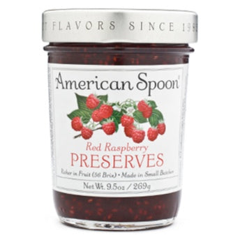 Red Raspberry Preserves I American Spoon Foods