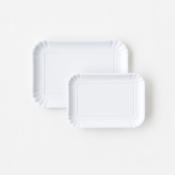 White Melamine Tray