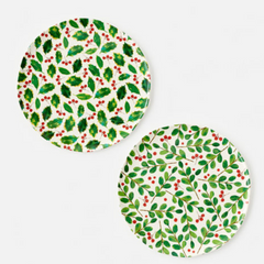 "Botanical Reusable ""Paper"" Platter 14.5"""