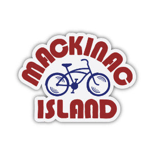 The Mitten State | Mackinac Island Sticker