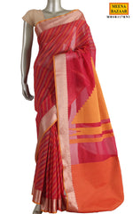 Load image into Gallery viewer, Rani Cotton Saree