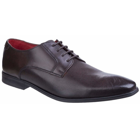 Base London Charles Waxy Lace Up Derby Shoe - Clearance