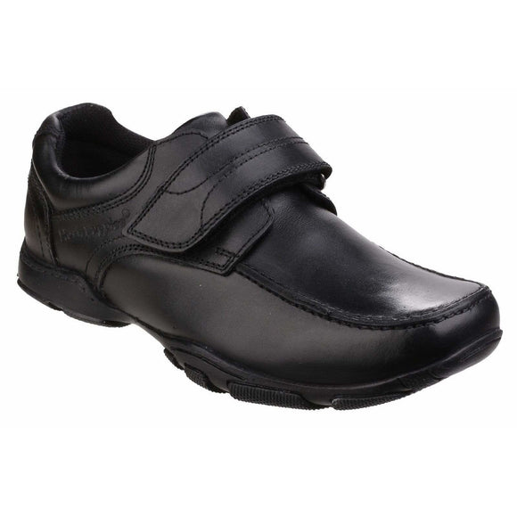 Hush Puppies Freddy 2 Touch Fastening  School Shoe