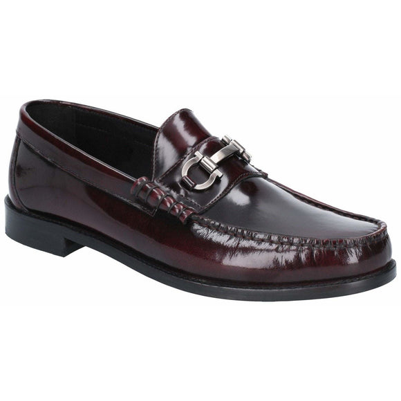 Base London Caliber Hi Shine Slip On Loafer