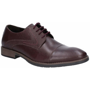 Hush Puppies Derby Plain Toe Shoe -Clearance