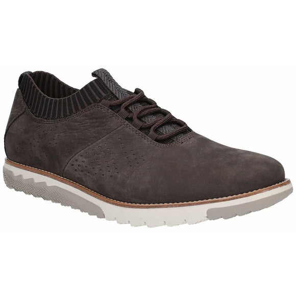 Hush Puppies Expert Knit Oxford Lace Up Trainer