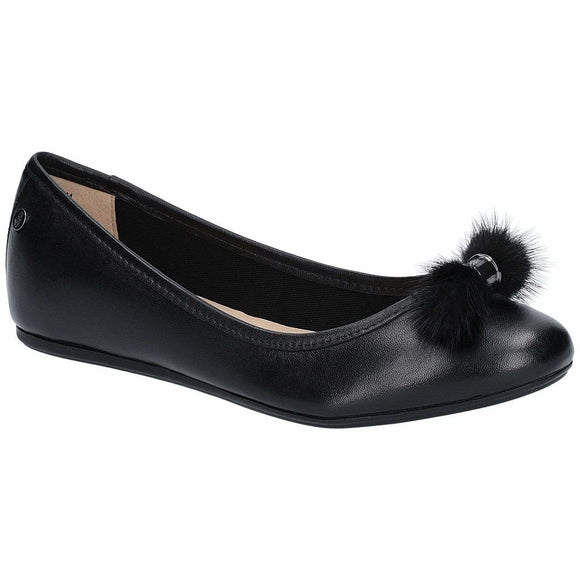 Hush Puppies Heather Puff Ballet Shoe - Clearance