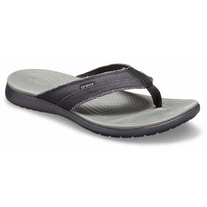 Crocs Santa Cruz Canvas Flip Flop