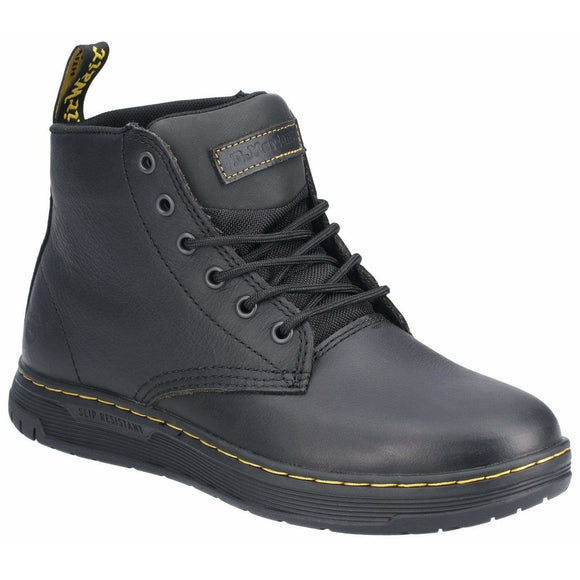 Dr Martens Amwell Slip Resistant Leather Shoes