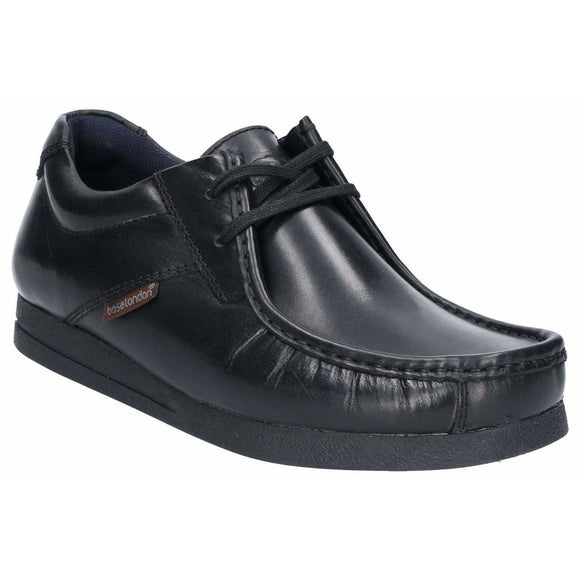Base London Event Waxy Lace Up Shoe