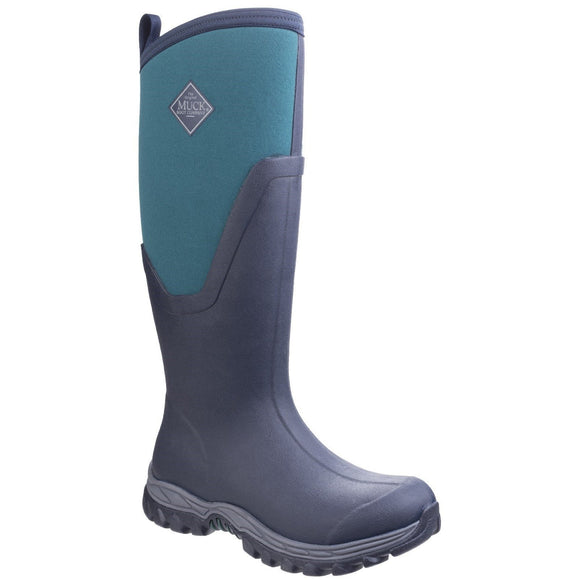 Muck Boot Non Safety Wellingtons Muck Boots Arctic Sport Tall II - Navy/Spruce
