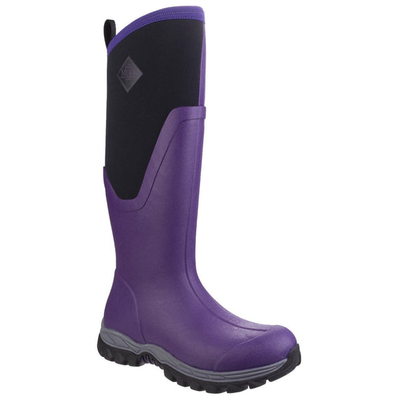 Muck Boot Non Safety Wellingtons Muck Boots Arctic Sport Tall II Womens - Acai