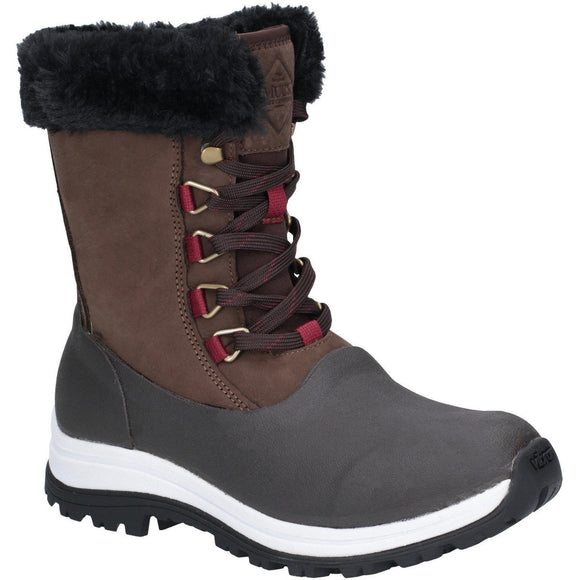 Muck Boots Muck Boots Brown Apres Lace Mid Boot