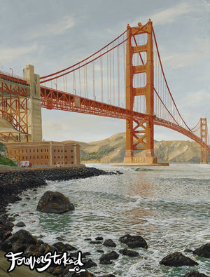 Golden Gate by Peter Pierce