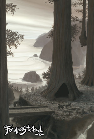 Redwood Camp by Charlie Clingman