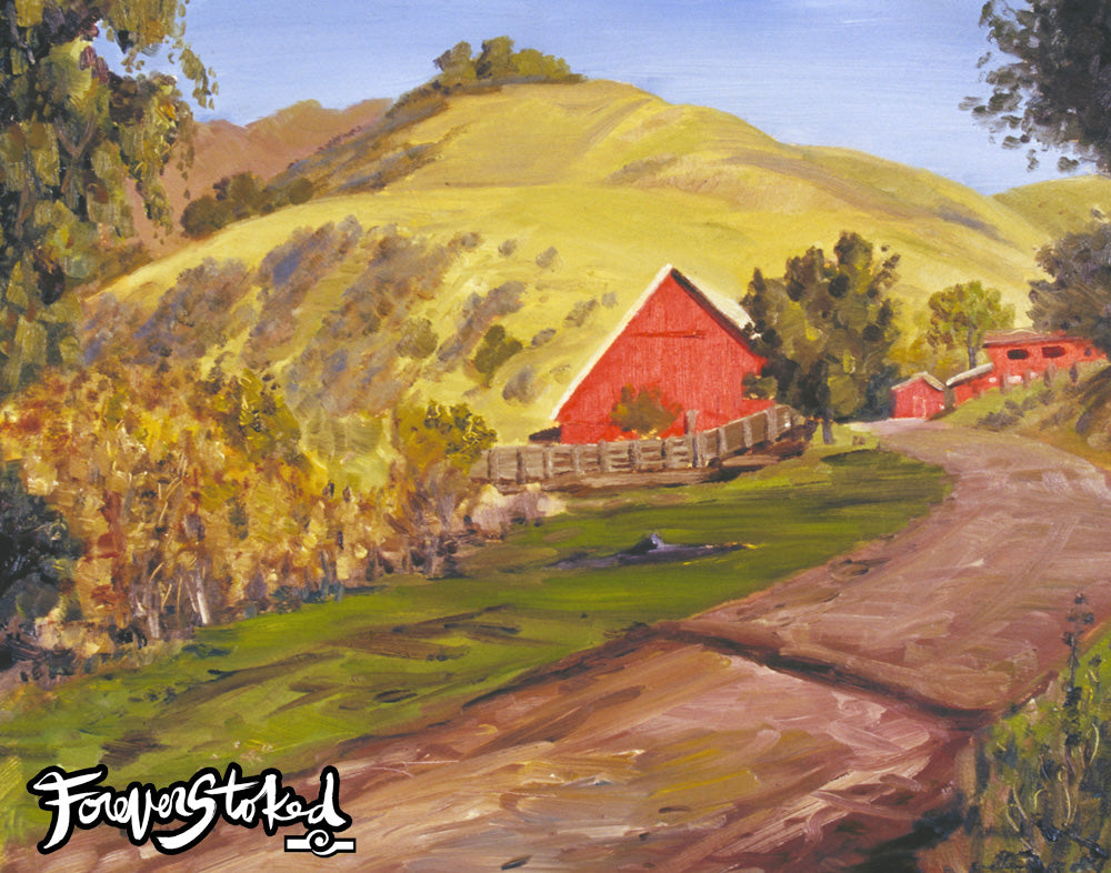 San Bernardo Creek Ranch by Charlie Clingman