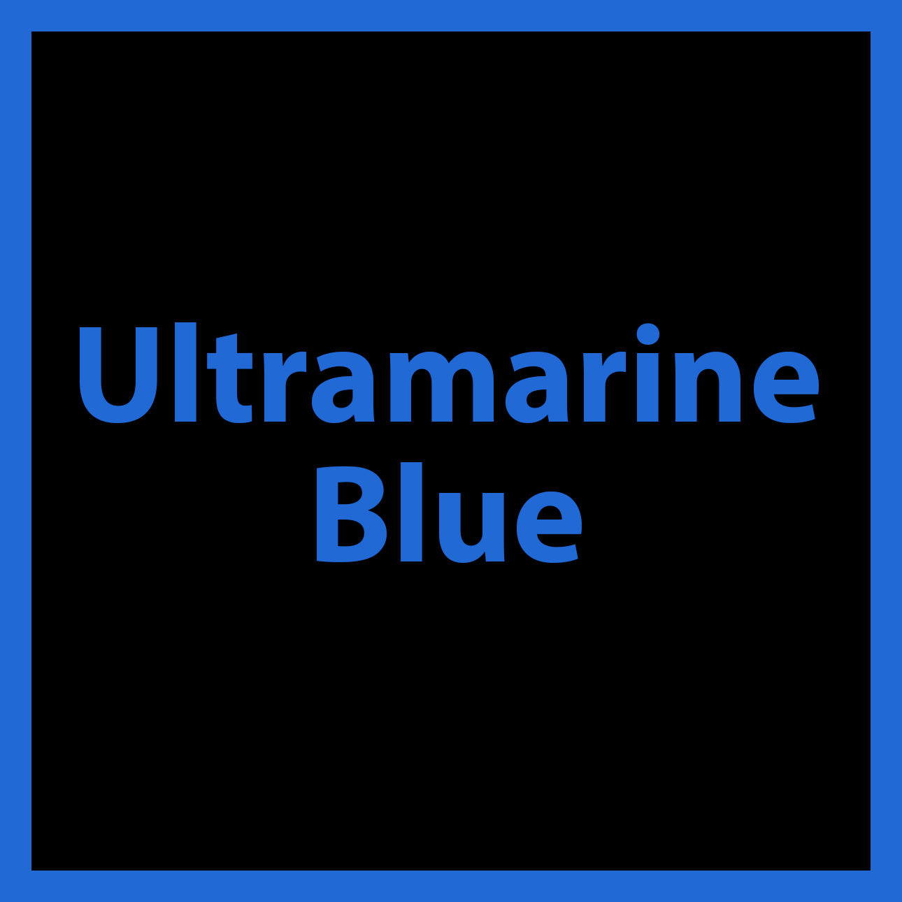 Ultramarine Blue - Acrylic Paint