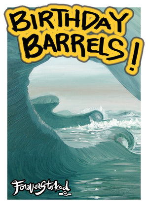 Birthday Barrels - CARD