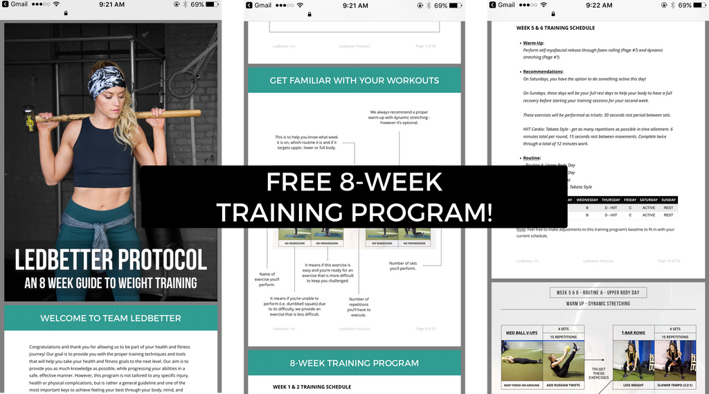 Macro Counting Made Simple with Free 8-Week Weight Training Program