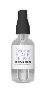 Lavender Black Pepper Cocktail Spritz