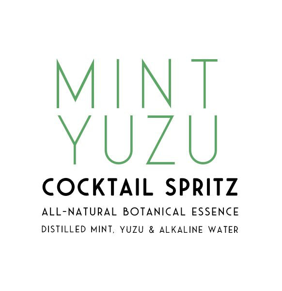 Mint Yuzu Cocktail Spritz