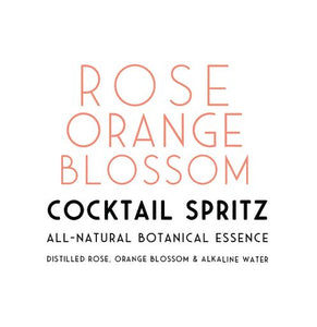 Rose & Orange Cocktail Spritz
