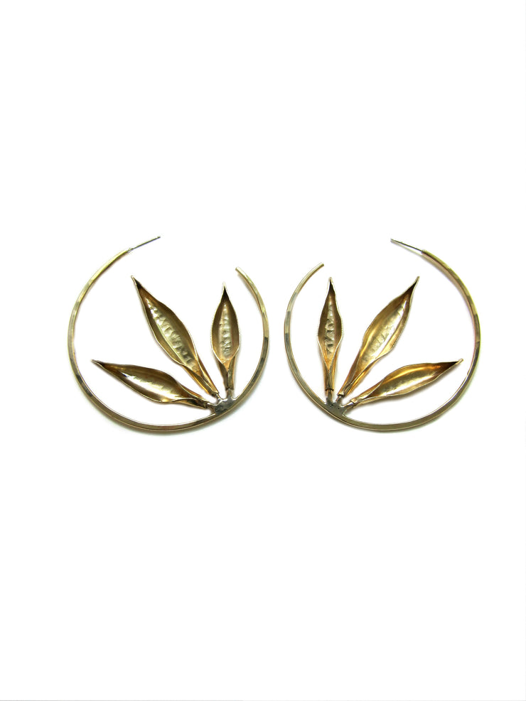 Bronze Thrive Hoops