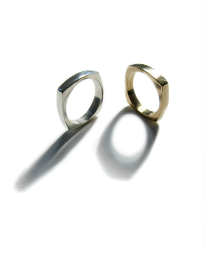 Bronze Or Silver Unisex Ring