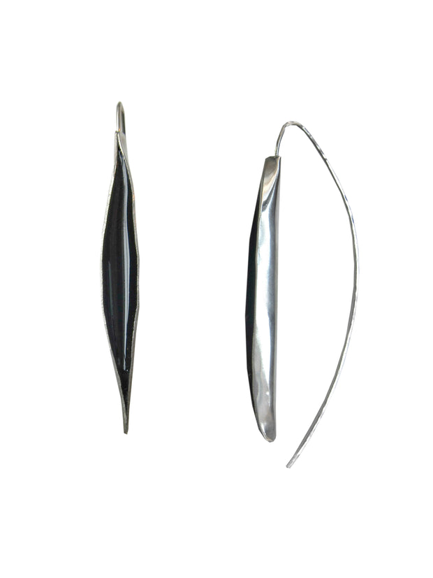 Obsidian Swell Earrings