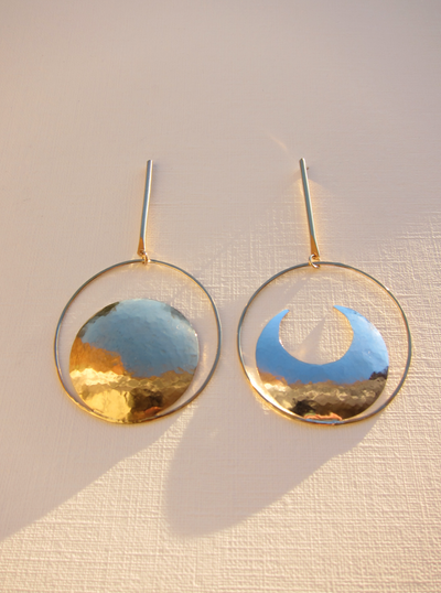 Lunar Eclipse Earrings
