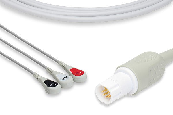 Draeger Compatible Direct-Connect ECG Cable