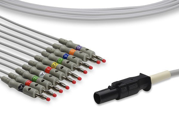 Mortara > Quinton Compatible Direct-Connect EKG Cable