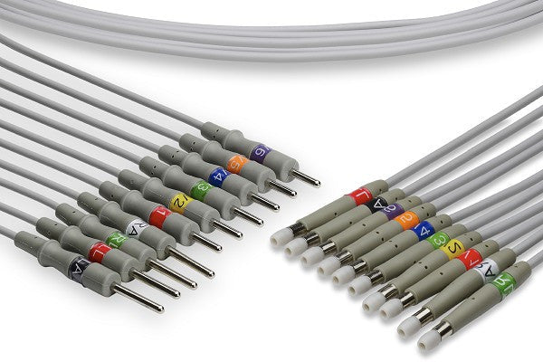 Welch Allyn Compatible EKG Leadwire