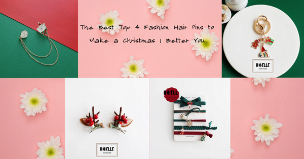 The Best Top 4 Fashion Hair Pins to Make a Christmas | Better You