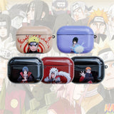 Anime Naruto Wireless Bluetooth Earphone Case For Apple Airpods Pro 3 Funny Cute Cartoon Silicon Headphone Soft Cover