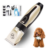 Rechargeable Professional Hair Clipper (Pet/Cat/Dog/Rabbit) Hair Trimmer Dog Hair Clipper Grooming Shaver Set Pets Haircut Tool