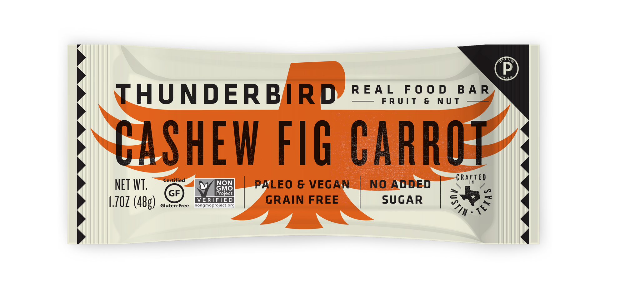 Cashew Fig Carrot - Box of 15 Bars