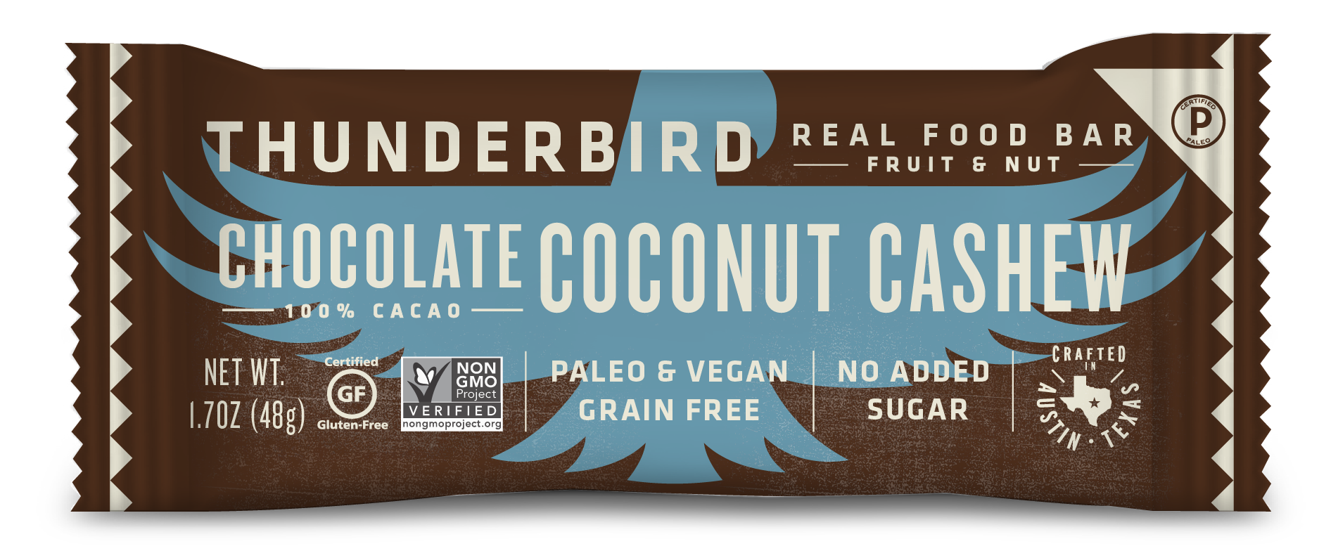 Chocolate Coconut Cashew - Box of 15 Bars