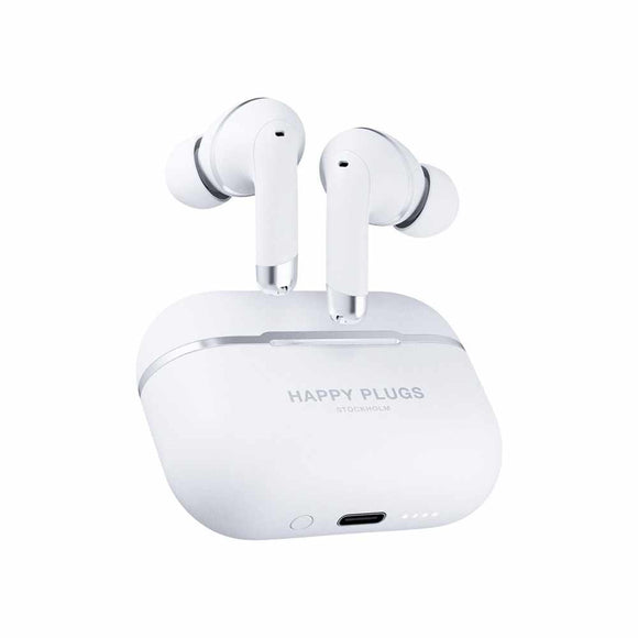 Happy Plugs - Air 1 ANC True Wireless Headphones White