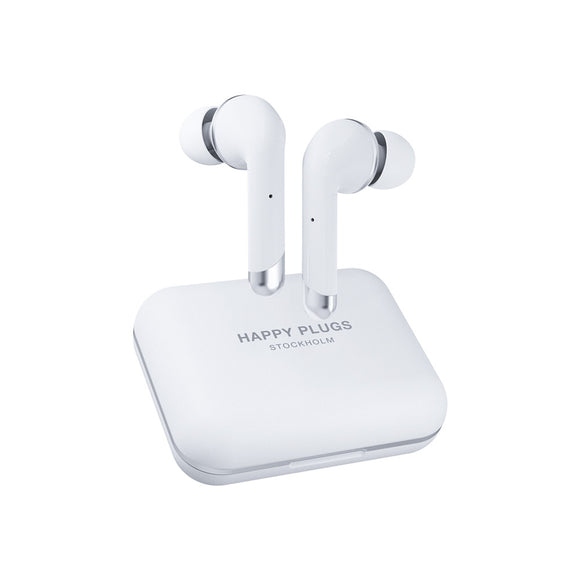 Happy Plugs - Air 1 Plus In-Ear True Wireless Headphones White