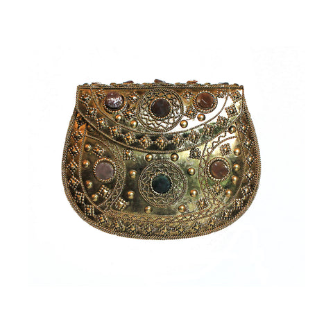 SOLD OUT - Golden Embellished Purse