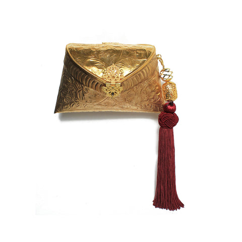 SOLD OUT - Golden Bag with Tassel