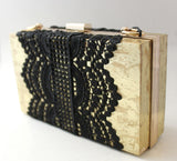 Lace Box Bag