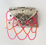 Silver Embellished Purse