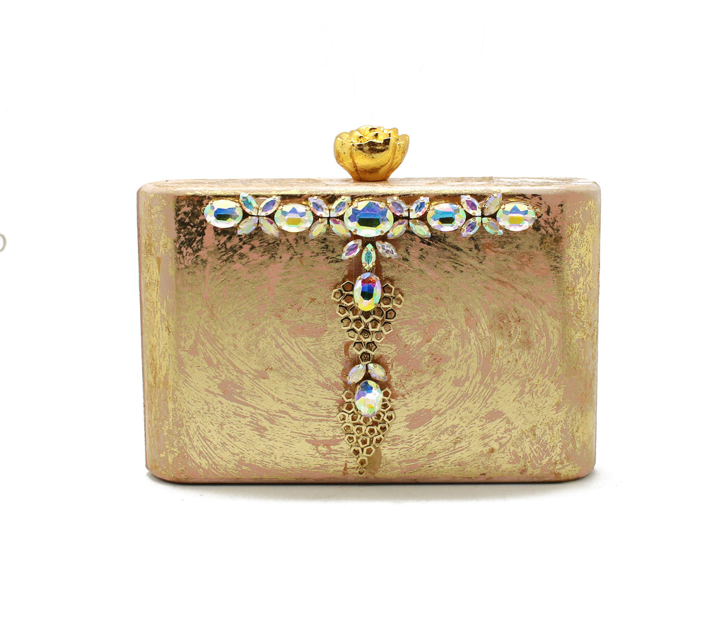 Embellished Box Bag