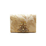 Texture Golden Embellished Purse