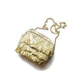 Gold Tassel Embellished Crossbody
