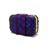 Embellished Purple Clutch