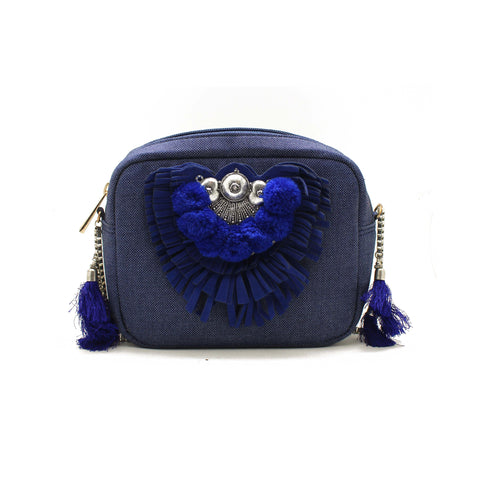 Boho Blue Cross-body
