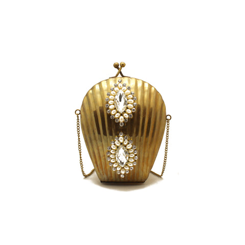 Embellished Golden Purse - Limited Edition